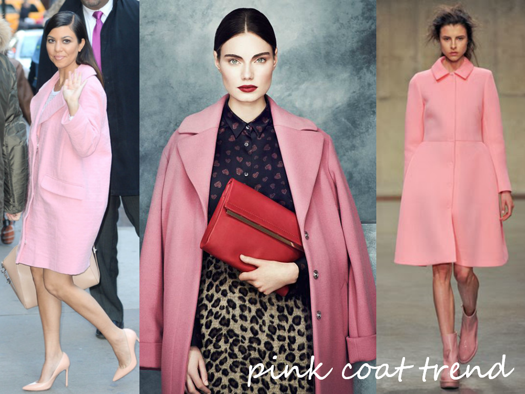 How To Wear Pink Coat | Down Coat