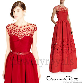 Princess Sofia style OSCAR DE LA RENTA Gown
