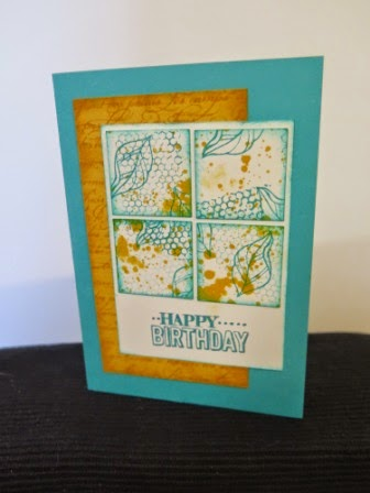 Bermuda Bay and Crushed Curry  zena kennedy independent stampin up demonstrator
