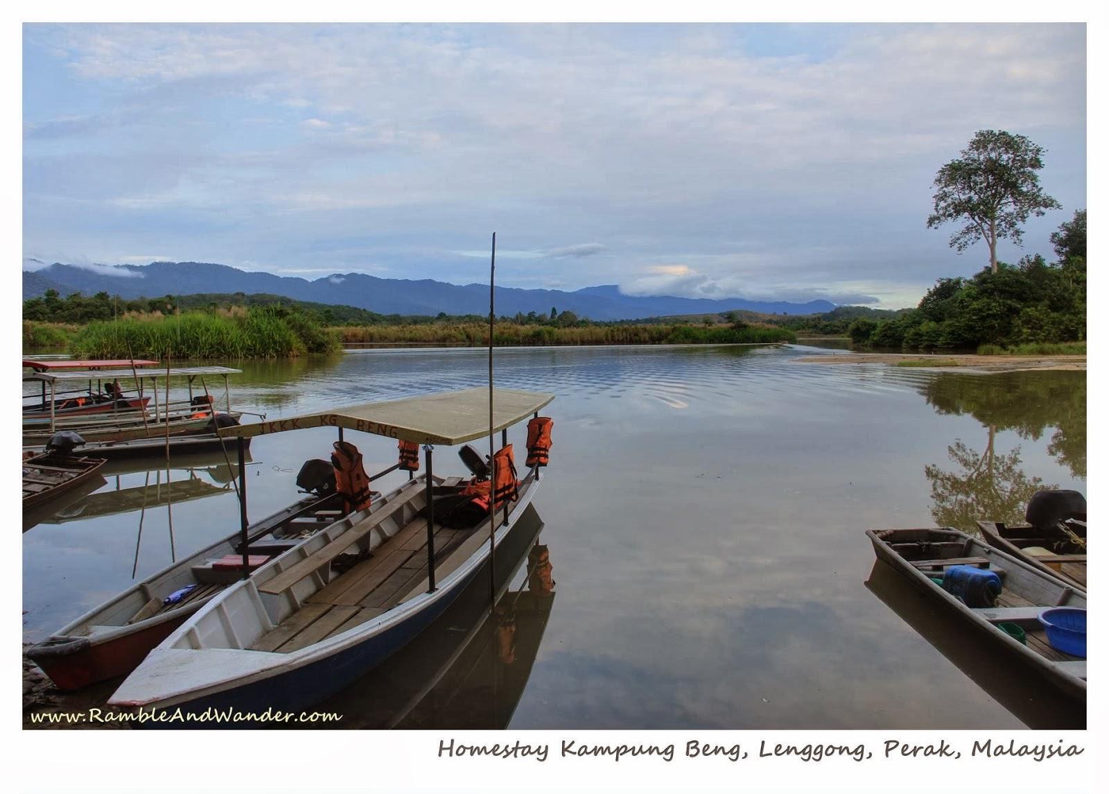 Lenggong Malaysia  city photos gallery : Malaysia: Homestay Kampung Beng, Lenggong, Perak Ramble and Wander