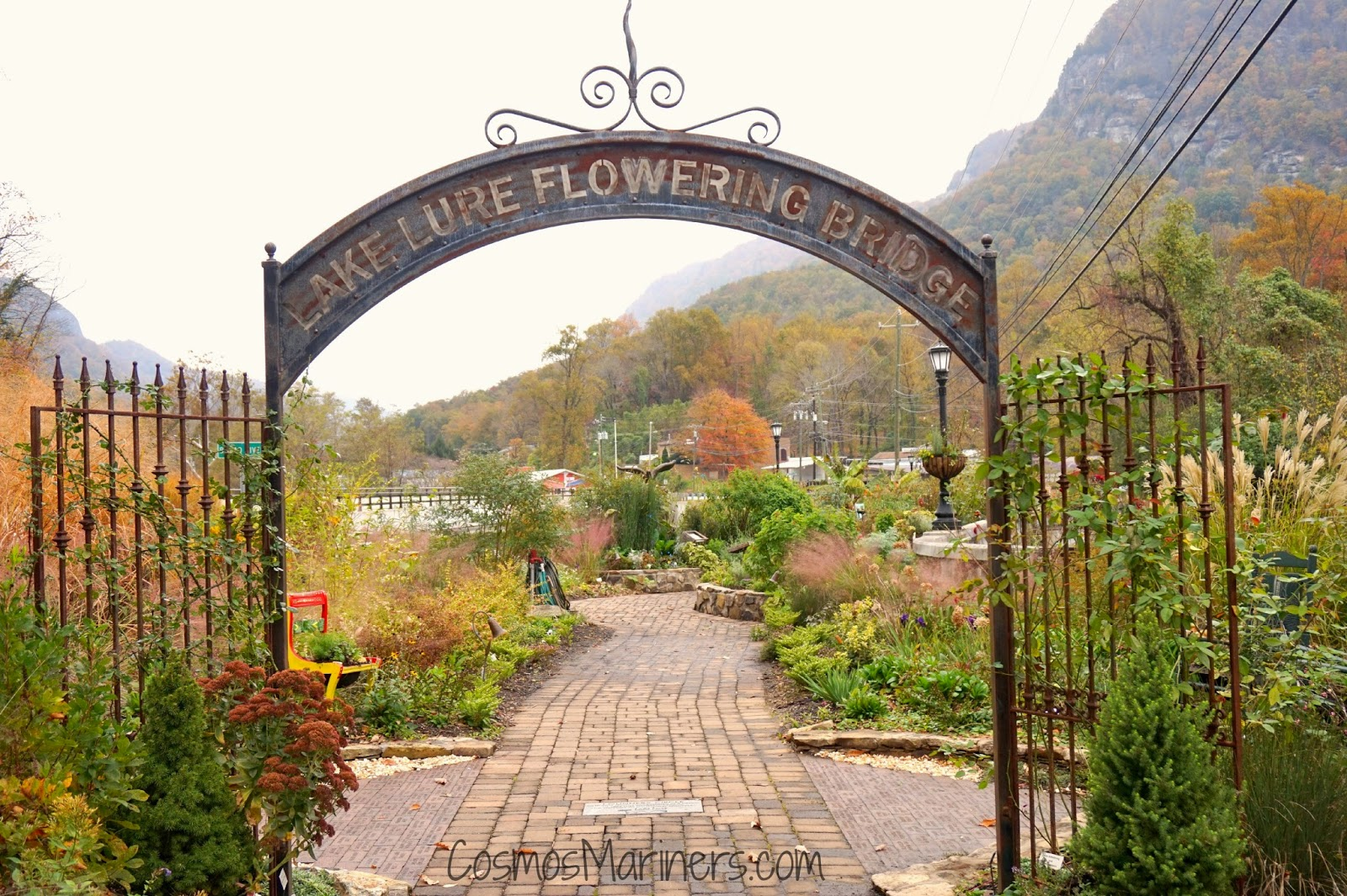 Lake Lure Flowering Bridge, Lake Lure, North Carolina | CosmosMariners.com