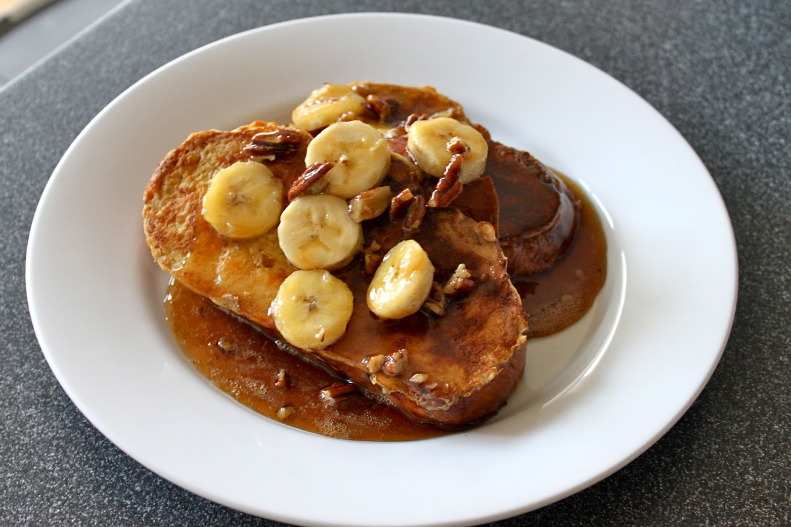Baked French Toast With Bananas, Walnuts, And Cacao Nibs Recipes ...