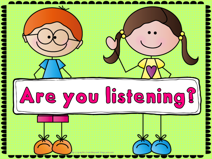 Are you listening? - Teach123