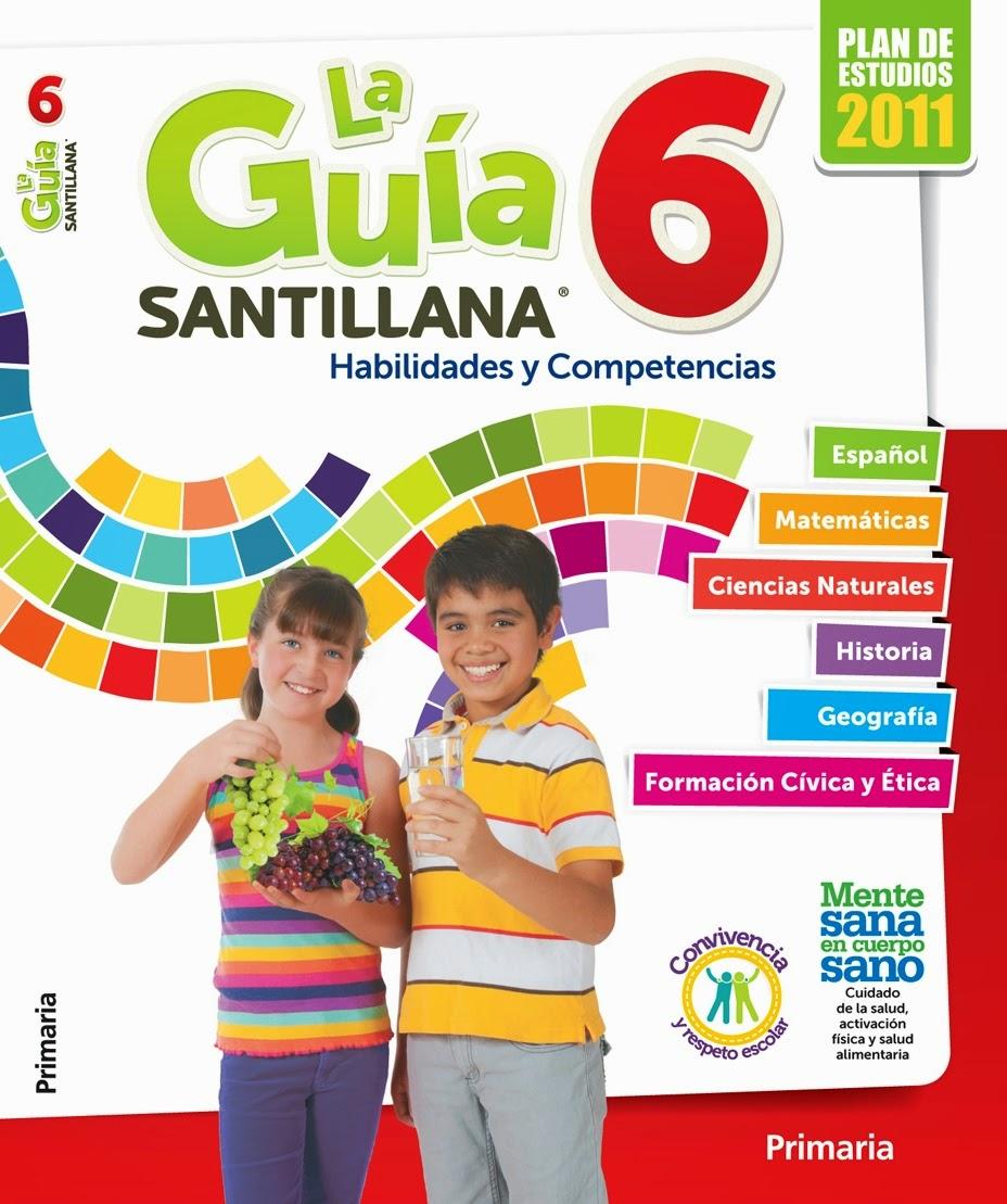 Guia Santillana 6 Grado Contestado De Maestros