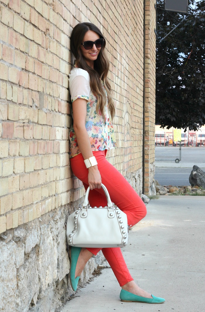 Florals & Bright Denim
