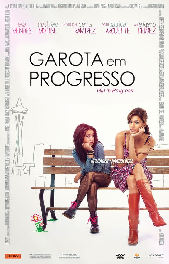 Garota em Progresso (Dublado) DVDRip RMVB