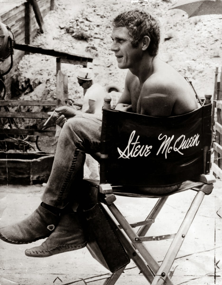 retro kimmer 39 s blog remembering steve mcqueen. Black Bedroom Furniture Sets. Home Design Ideas