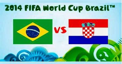 Brasil 3 - 1 Croacia. Favores a Brasil para inaugurar el Mundial