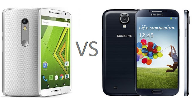 Moto X Play Vs Samsung Galaxy S4