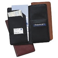 Personalized genuine Nappa cowhide leather passport holder