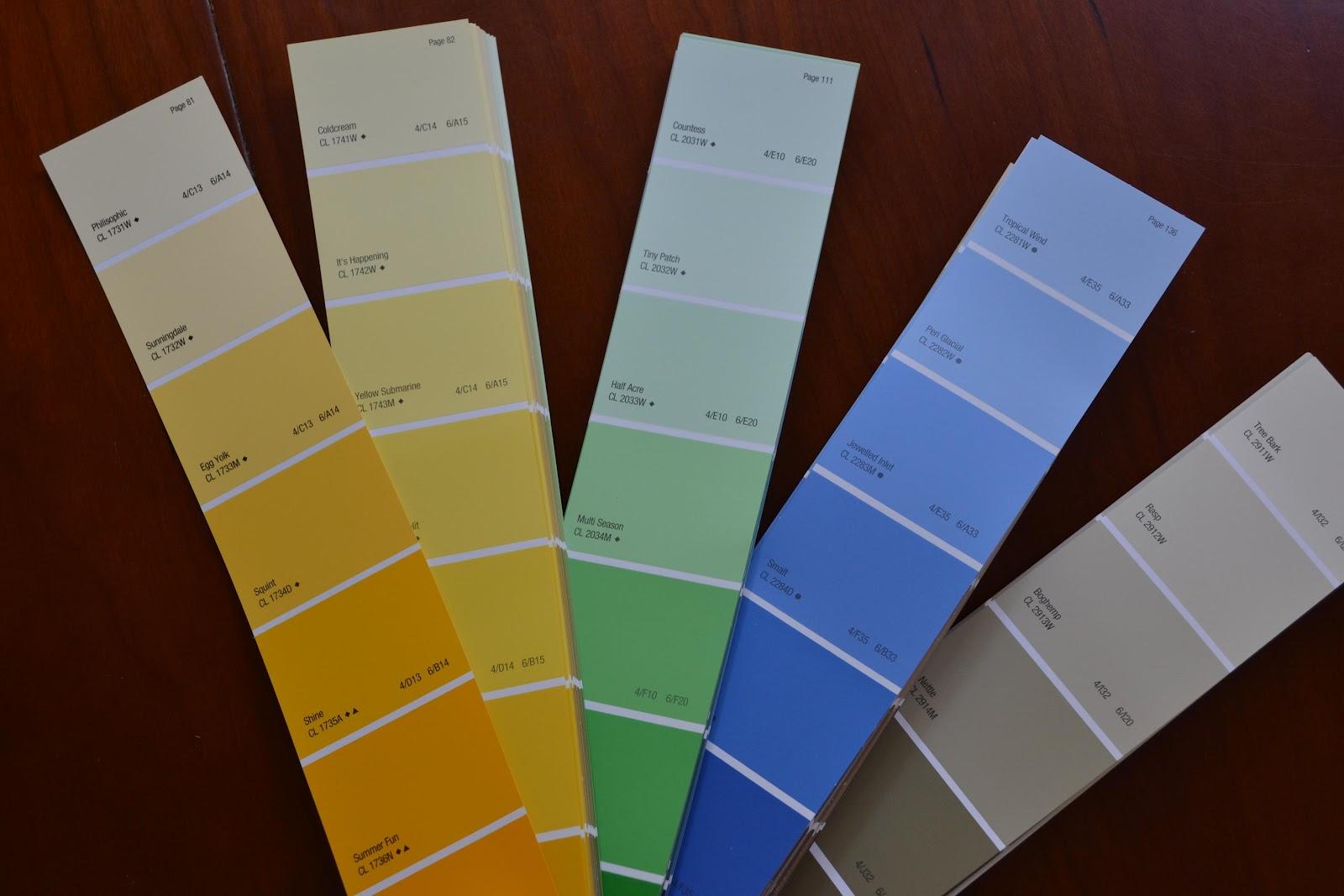 Vita a San Diego: 1008 - i colori: quali e dove