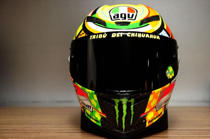 MotoGP Update: picture: Project VR46 AGV Helmet launch