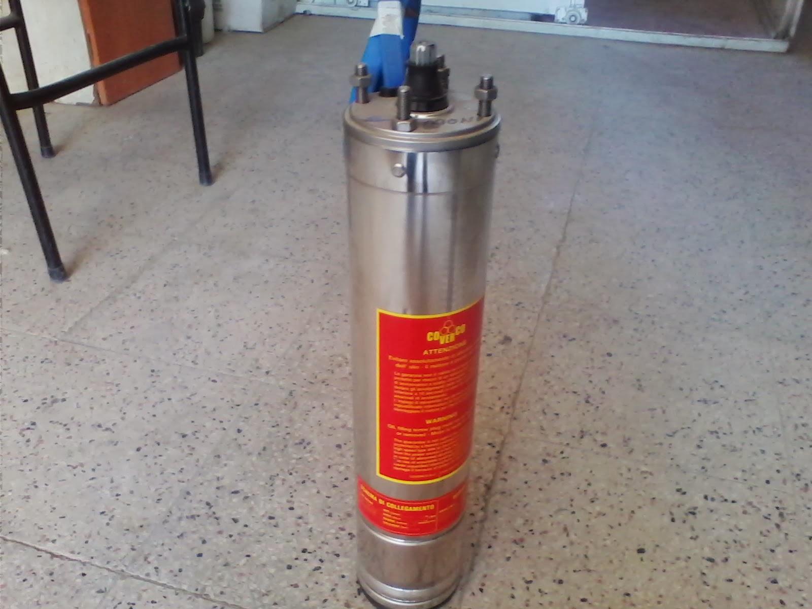 4 inç dalgıç pompa yaglı motor coverco
