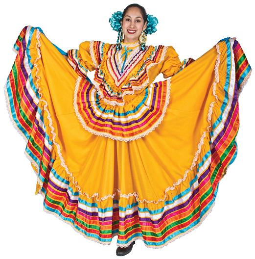 Piroska and the Wolf: Mexican Folk Costumes - Jalisco