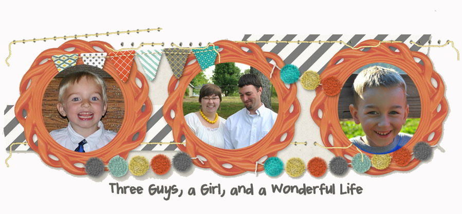 3 Guys, a Girl, and a Wonderful Life...