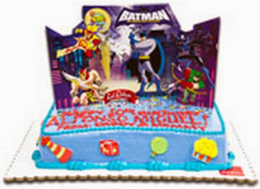 Cake for the Jollibee party theme Batman