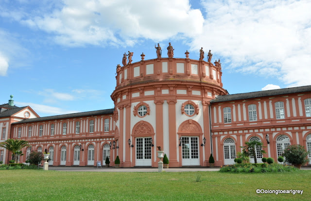 Biebrich Palace in Wiesbaden, Germany