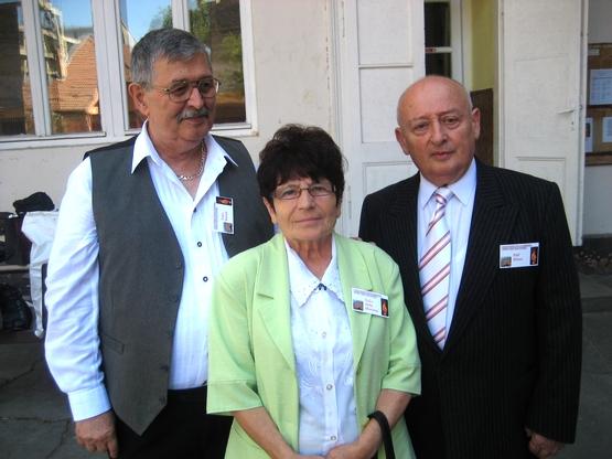 A 3 alsósófalvi Sz Cs Júlia, Páll Dénes és Szász Károly