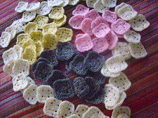 cuadraditos a crochet para manta