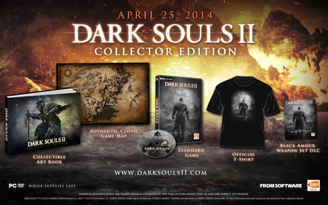 Dark Souls 2-release date-PC -Steam