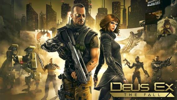 Game Deus Ex : The Fall
