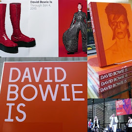 "The ""David Bowie Is"" exhibition at the MCA opens."