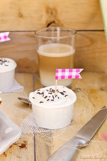 Cupcakes tiramisu receta