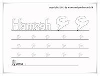 Huruf Hijaiyyah Hamzah
