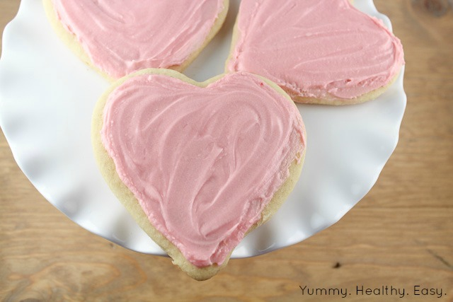 The Softest Sugar Cookies & Buttercream Frosting - Yummy ...
