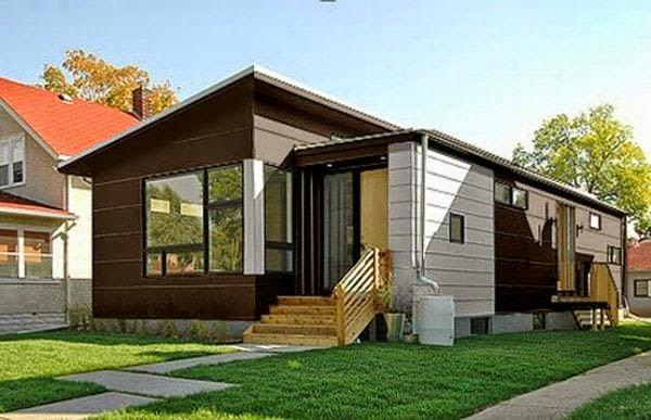Gambar Desain Rumah Minimalis Cantik dan Unik
