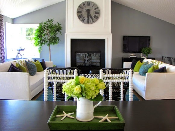 harmonios modern living room color schemes and paint