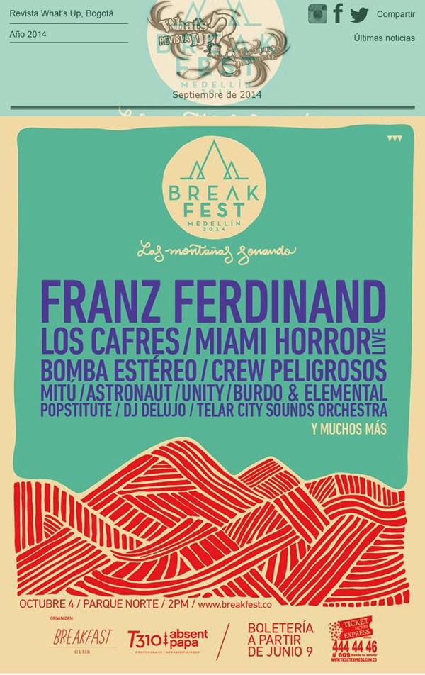 Agendate-Franz-Ferdinand-octubre