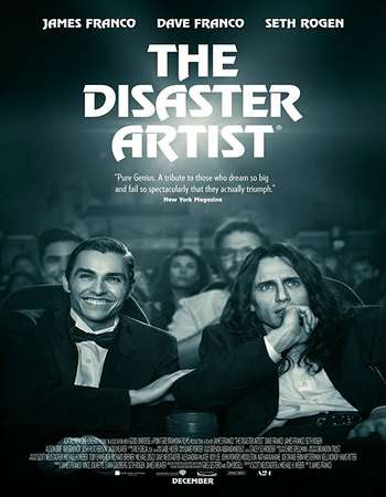 Poster Of English Movie The Disaster Artist 2017 Full DVDScr Movie Free Download Watch Online