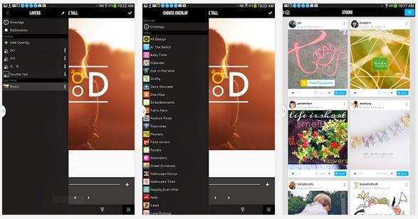 شرح تطبيق Studio Design لتصميم وتحرير الصور للأندرويد والأيفون وAPK iOS