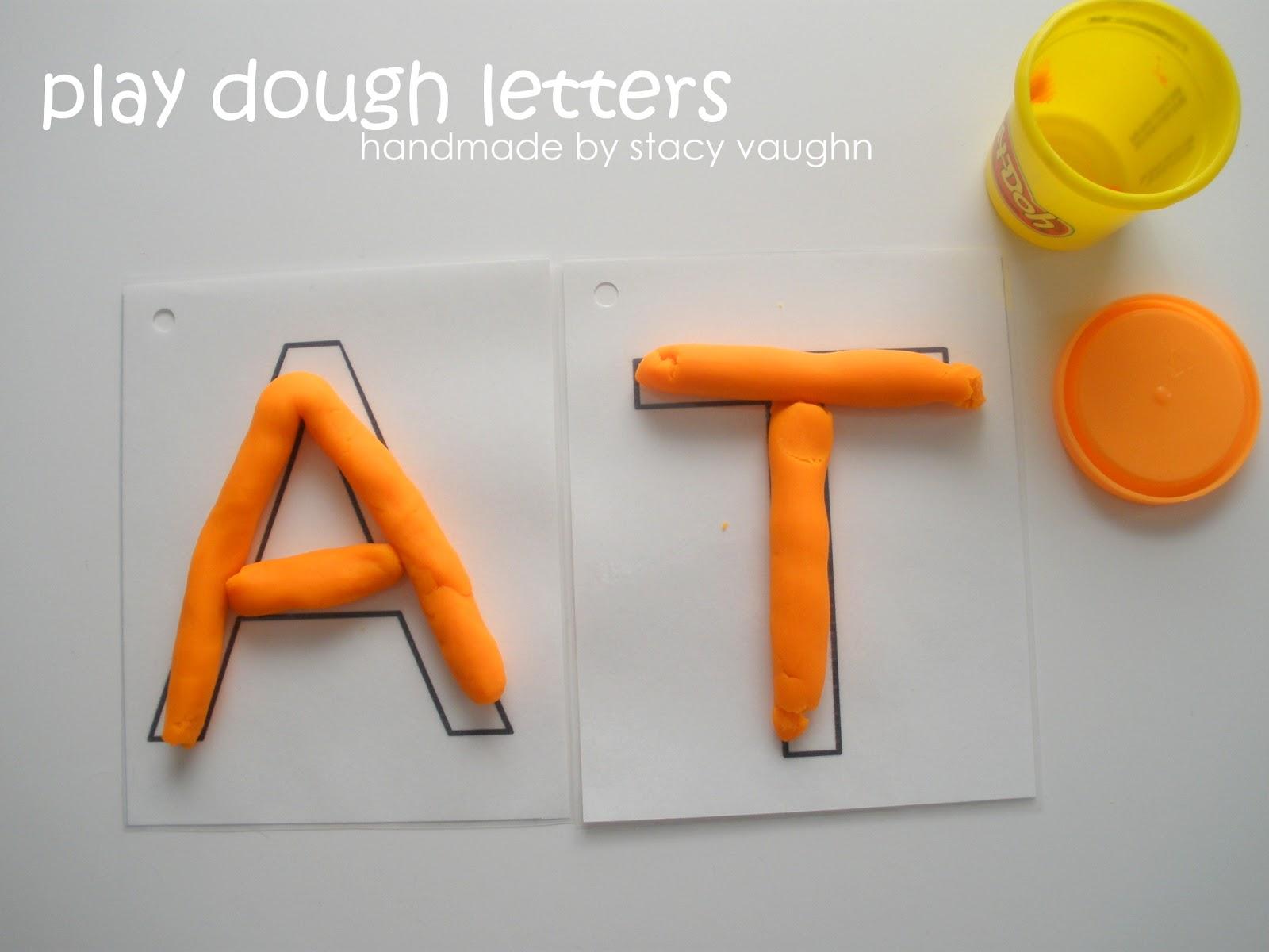 Формованные буквы своими руками