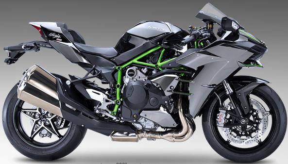 Motor Kawasaki NINJA H2™ 2015 Terbaru Motor paling Cepat