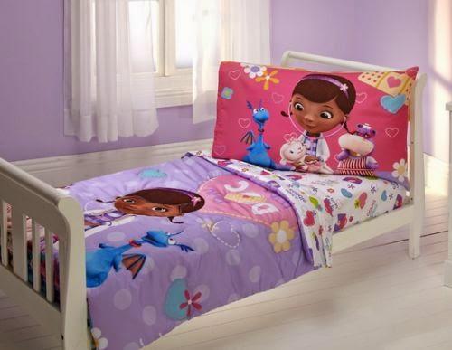 Doc McStuffins Queen Size Bedding Set
