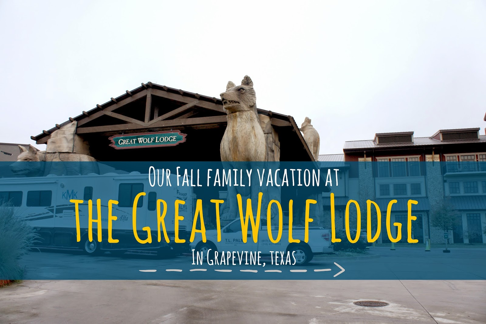 Family Vacations at the Great Wolf Lodge in Grapevine, Texas
