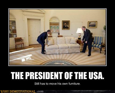 Obama moving out 