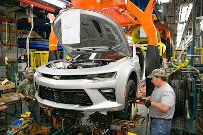 2016 Camaro to Create Jobs in Lansing