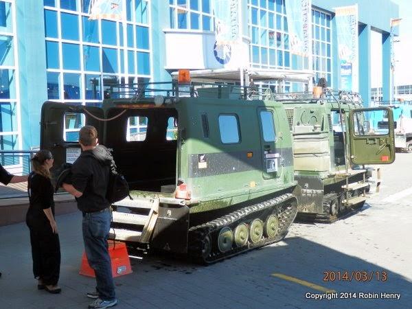 International Antarctic Centre Hoaglund Vehicles