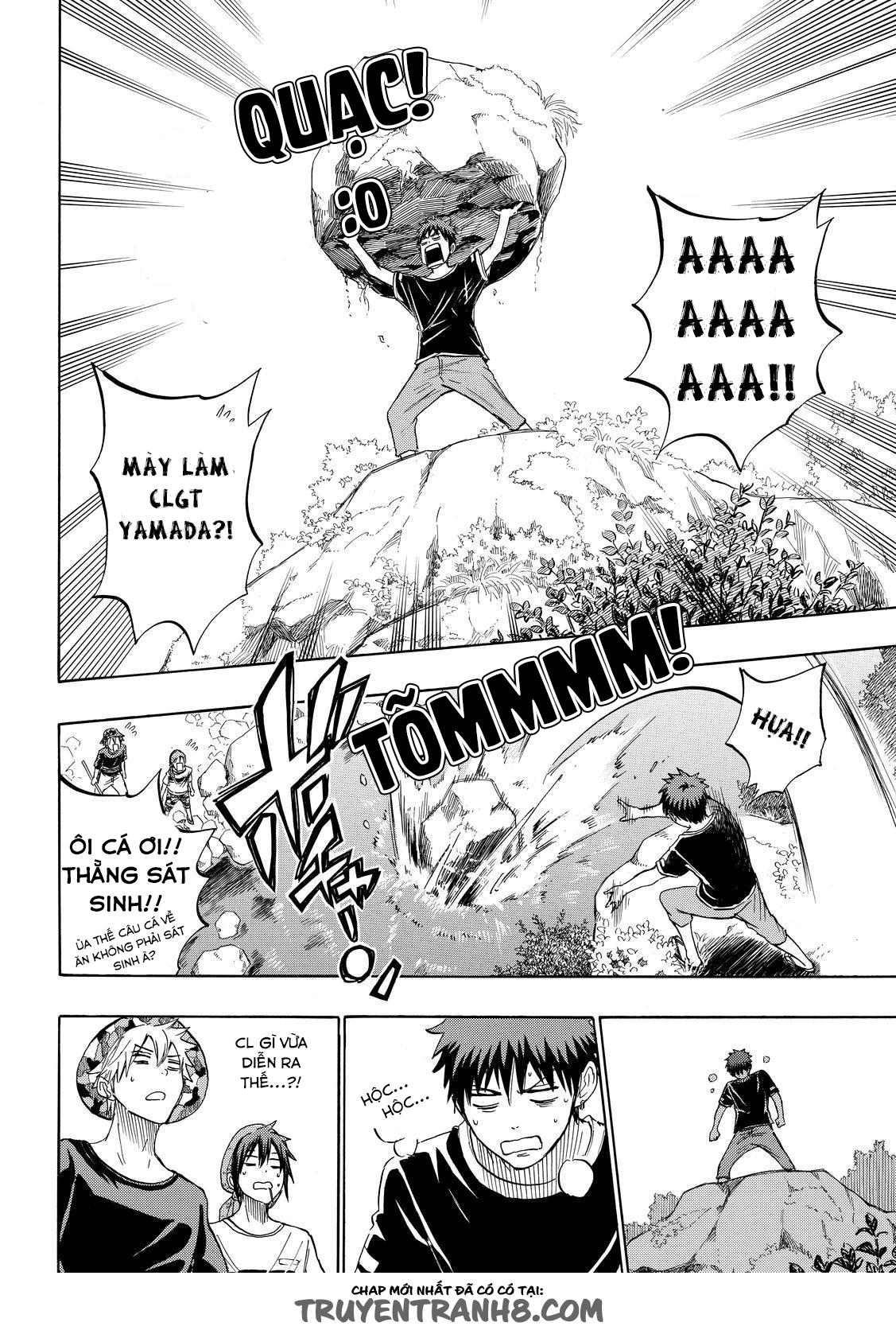 Yamada kun to 7 nin no Majo Chap 227 - Trang 12