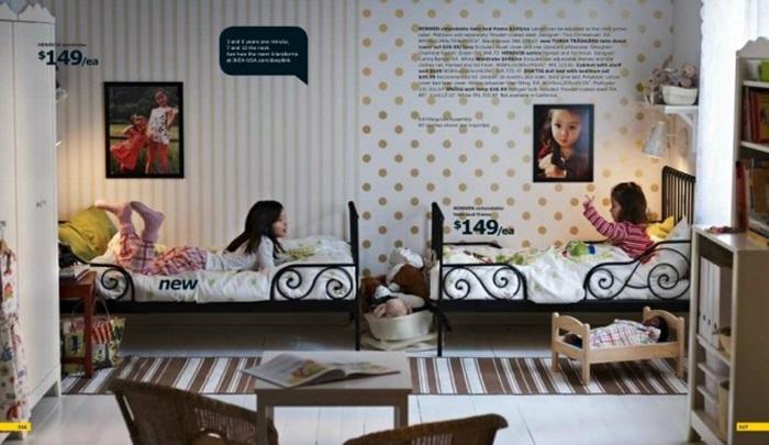 Ikea Children S Shared Room Design Ideas Catalog
