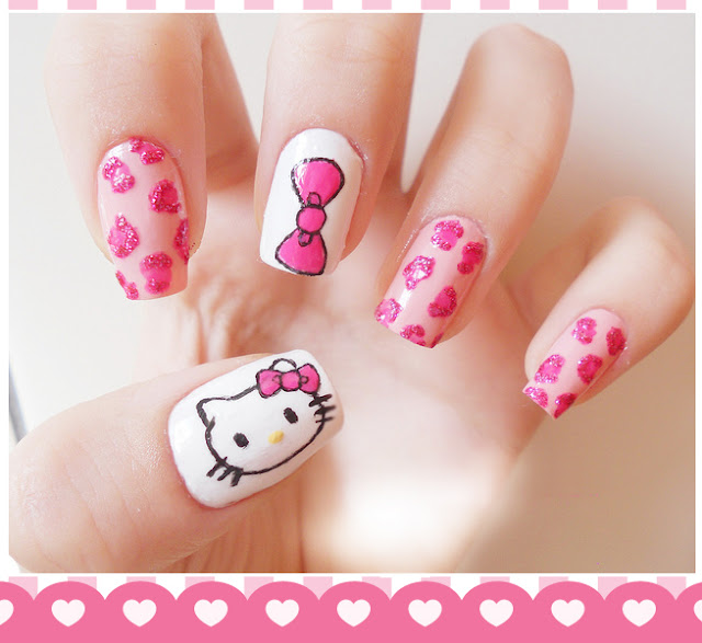 The Amazing Japanese nail designs Images