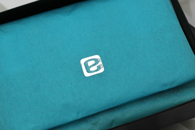 enail logo on tissue paper inside