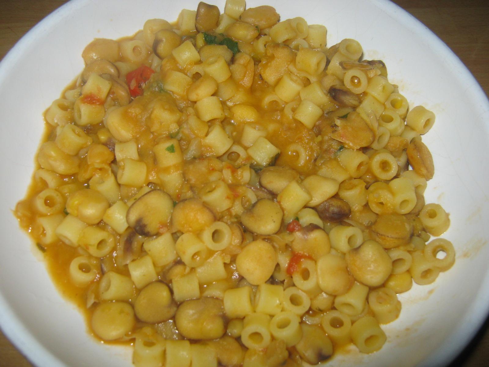 ricetta pasta e cicerchie