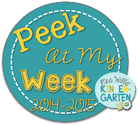 Peek at My Week Visual RTI Lesson Plans