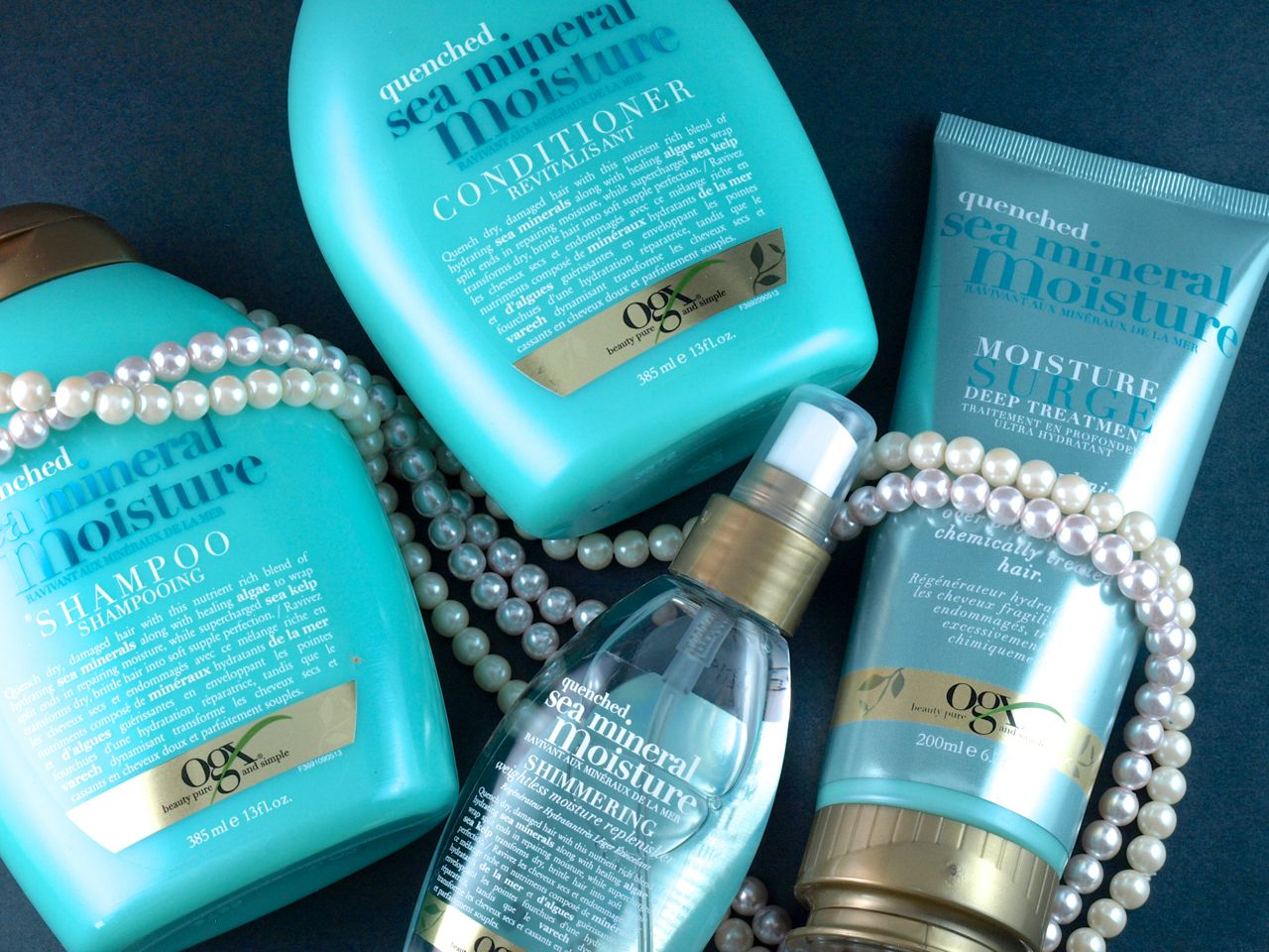 OGX Quenched Sea Mineral Moisture Collection: Review