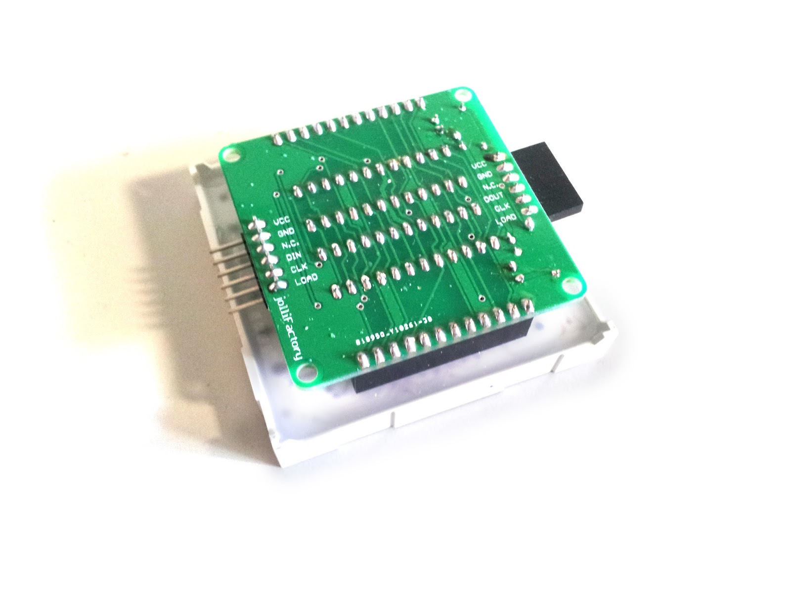 Jollifactory Bi Color Led Matrix Driver Module Diy Kit Display Circuit Parts List Note Item 3 Is Needed But Not Included In The