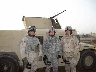 Col. Ron Turk of the National Air Guard helps to defend the Baghdad Airport.